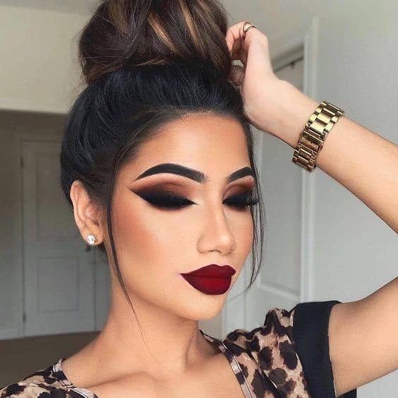 Maquillaje de noche elegante. Tutorial paso a paso | Central Makeup