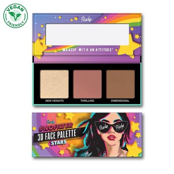 paleta rude cosmetics